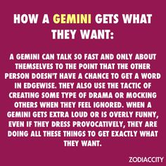 Daily updated fun facts on the zodiac signs. June Gemini, Gemini And Scorpio, Gemini Traits, Gemini Sign, Gemini And Virgo, Gemini Quotes, Gemini Woman, Zodiac Signs Gemini, My Zodiac Sign