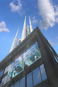 #TheLedge at #WillisTower: Exterior view looking up