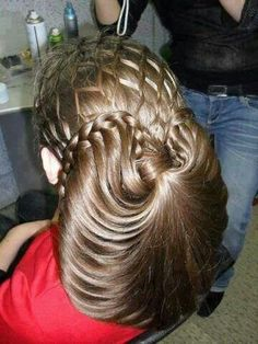 Star wars braid updo