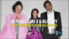 Beyonce & Jay Z Are Barbie and Ken for Halloween