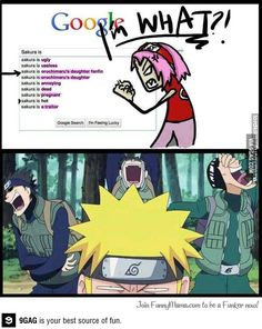 bwahahaha.... sorry sakura... :D Looks like you and Google don't get along.... #naruto