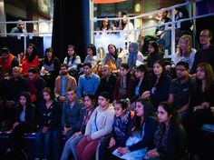 Audience for 'Nirbhaya' post show talk (image by Dee Patel)