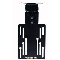 VideoSecu Under Cabinet Mount for LCD LED TV Monitor Flat Panel Flip Swivel Mount Bracket MLU01B 1KY (Personal Computers)