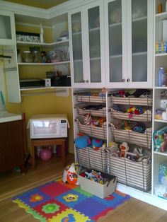 California Closets Laundry U0026 Playroom