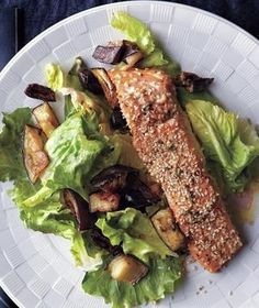 ... Healthy Recipes on Pinterest | Salmon, Roasted salmon and Eggplants