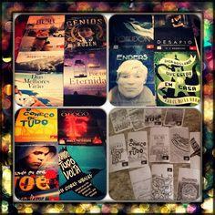 Poster e Adesivos. Mimos recebidos da Novo Conceito com os poster dos novos lançamentos de 2014.