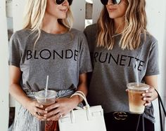 But first, coffee! And how cute are these tees? Every blonde/brunette besties need them! http://liketk.it/2rYxR #liketkit @liketoknow.it