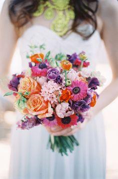 A gorgeous summertime bouquet.