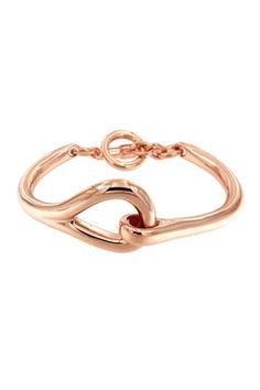 Milor Jewelry Polished Toggle Bracelet