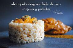 Tía Alia Recetas: Arroz al curry con leche de coco, orejones y pistachos para DIRECTAS AL GRANO