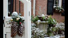 GardenStyle with Sara Antin Winter Wonderland Windowbox and Winter Swag BetterKC Segment Christmas Urns, Christmas Wreaths, Learn To Love, Garden Styles, Blogger Themes, Winter Wonderland, Kitchen Design, Swag, Make It Yourself
