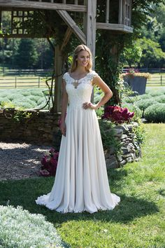 From traditional ball gowns to illusion detailing on figure-flattering silhouettes, Sincerity Bridal has a wedding dress for every bride seeking graceful romance. Sincerity Bridal Wedding Dresses, Stunning Wedding Dresses, Wedding Dress Sizes, Sophia's Bridal, Bridal Style, Tulle Ball Gown, Ball Gowns, Traditional Wedding Dresses, Applique Dress