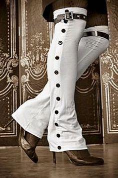 Steampunk spats or leg warmers