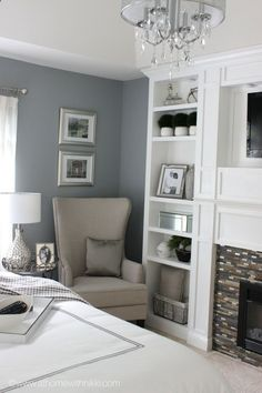 Master Bedroom Makeover - athomewithnikki