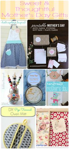 Last Minute Homemade Mother's Day Gift Ideas - Cupcakes and Crinoline