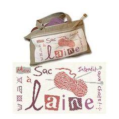"""Diagramme pour """" Sac � tricot - Lilipoints"""