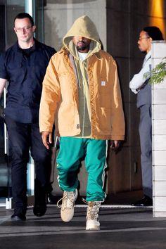 Kanye street style 2016