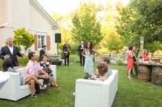 party lounge set up - Google Search