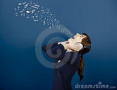 Sair das notas musicais da boca