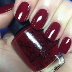 OPI St. Petersburgundy - I want my hair this color