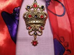 Coronation Pin for the Next Red Hat Queen by janhall1 on Etsy