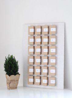Homemade Advent Calendar | Grey Likes BabyGrey Likes Baby  #Christmascrafts