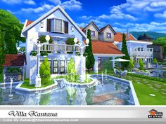 Villa Kantana Found in TSR Category 'Sims 4 Residential Lots'