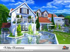 Villa Kantana  Found in TSR Category 'Sims 4 Residential Lots'
