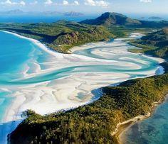 ホワイトヘブンビーチ(クイーンズランド、オーストラリア)