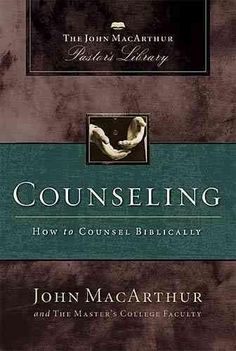 Solid theological foundations of biblical counseling are clearly presented in contrast to humanistic and secular theories of psychological counseling. A practical, proactive, and relevant book for stu