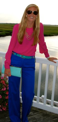 Such Good Style: Color Blocking
