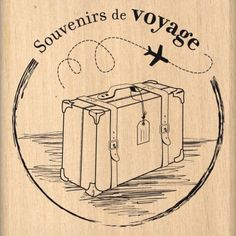 tampon dessin voyage vacance ticket avion th me voyage vacance pinterest vintage voyage. Black Bedroom Furniture Sets. Home Design Ideas