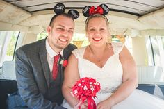 Awesome bride and groom wearing Disney wedding ears from Etsy :) Taken in their campervan transport on a beautiful sunny day in August 2020 during the COVID-19 restrictions Groom Wear, Bridesmaid Dresses, Wedding Dresses, Photography Portfolio, Campervan, Sunny Days, Sunnies, Ears, Wedding Photography