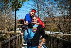 He's my hero superhero dad!