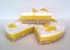 Lemon Meringue Pie Whole Soap Cake Fake 1kg - Click Image to Close Cute idea ...