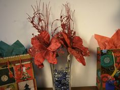 Sophia Glittered Vintage Christmas Picks Pack of by LilySimon143, $54.00