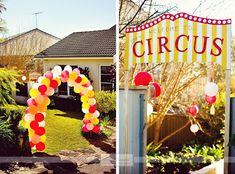 Daisy Pink Cupcake: ~Carnival Birthday Party~