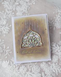 Ramadan Greetings, Eid Cards, Distress Oxides, Altenew, Eid Mubarak, Mosaic, Decorative Boxes, Ads, Instagram