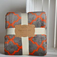 Moroccan Trellis Velvettloft Throw - Berkshire Blanket