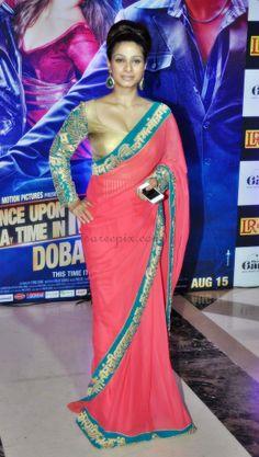 Tanisha at Ekta Kapoor's Iftar party in 2013 | PINKVILLA