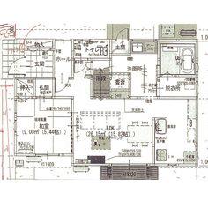 マイホーム計画/新築建築中/狭小住宅/間取り図/部屋全体のインテリア実例 - 2016-12-27 13:56:12 | RoomClip(ルームクリップ)