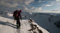Ski mountaineering goddess