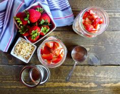 Berry Cherry Overnight Oats for National Nutrition Month 2017