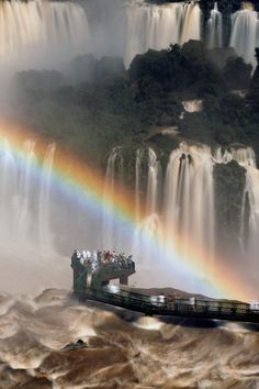 Iguazu Falls as viewed from Brazil (by Raymond Choo)