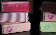 Embalagem personalizada para sabonetes