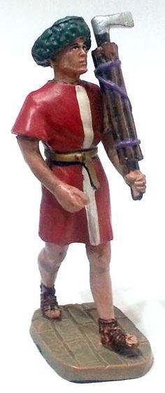 "Littore, II secolo a.C., numero 86 di ""Roma e i suoi nemici"" (2011 Vadis) #Miniatures #Figures #AncientRome #OspreyPublishing"