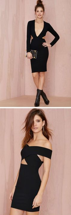 Get it started in party-perfect LBDs #NastyGal