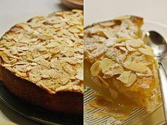 Keveät askeleet: Pehmeä päärynä-mantelikakku Banana Bread, Desserts, Food, Deserts, Dessert, Meals, Yemek, Postres, Eten