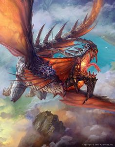 The Dragon, terror of the skies