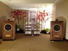 Tannoy Canterbury speakers driven by full Esoteric stack